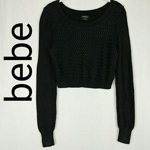 bebe  Crop Sweater
